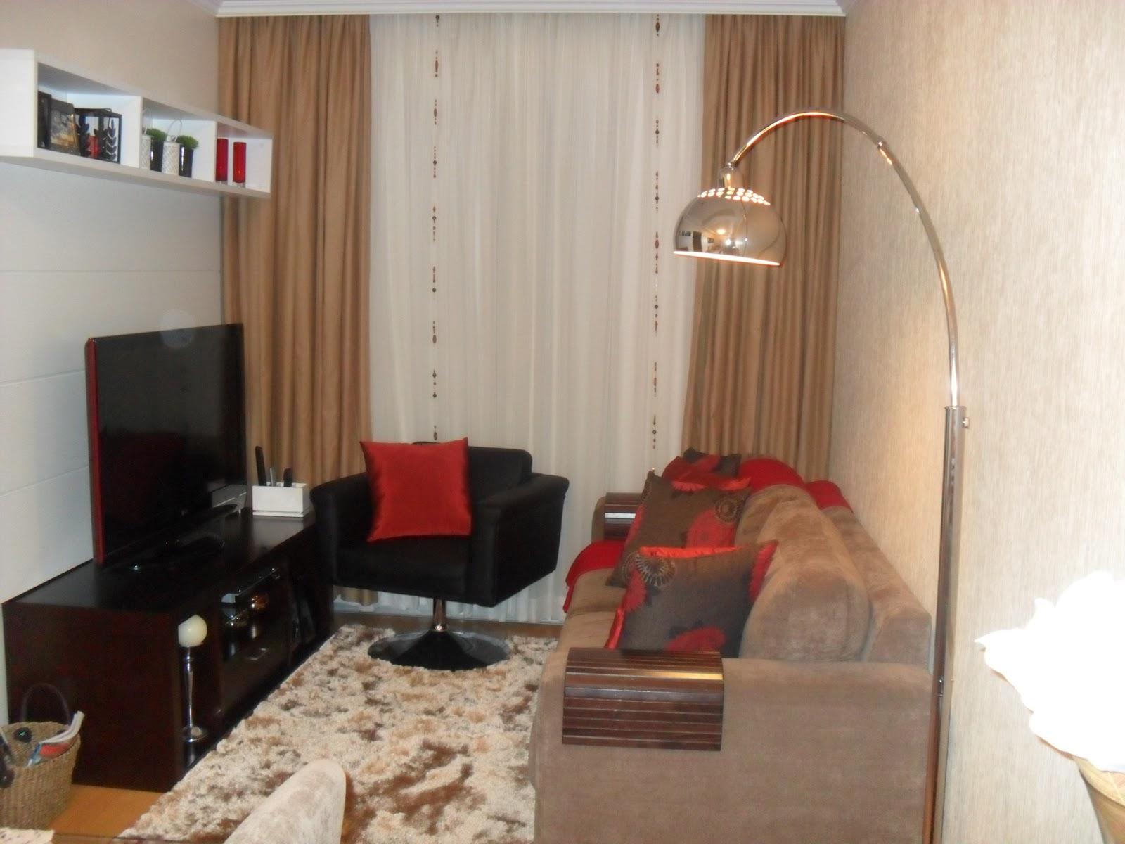 "decoracao interiores sala estar:Dalsira Decoração de Interiores"": Sala de estar."