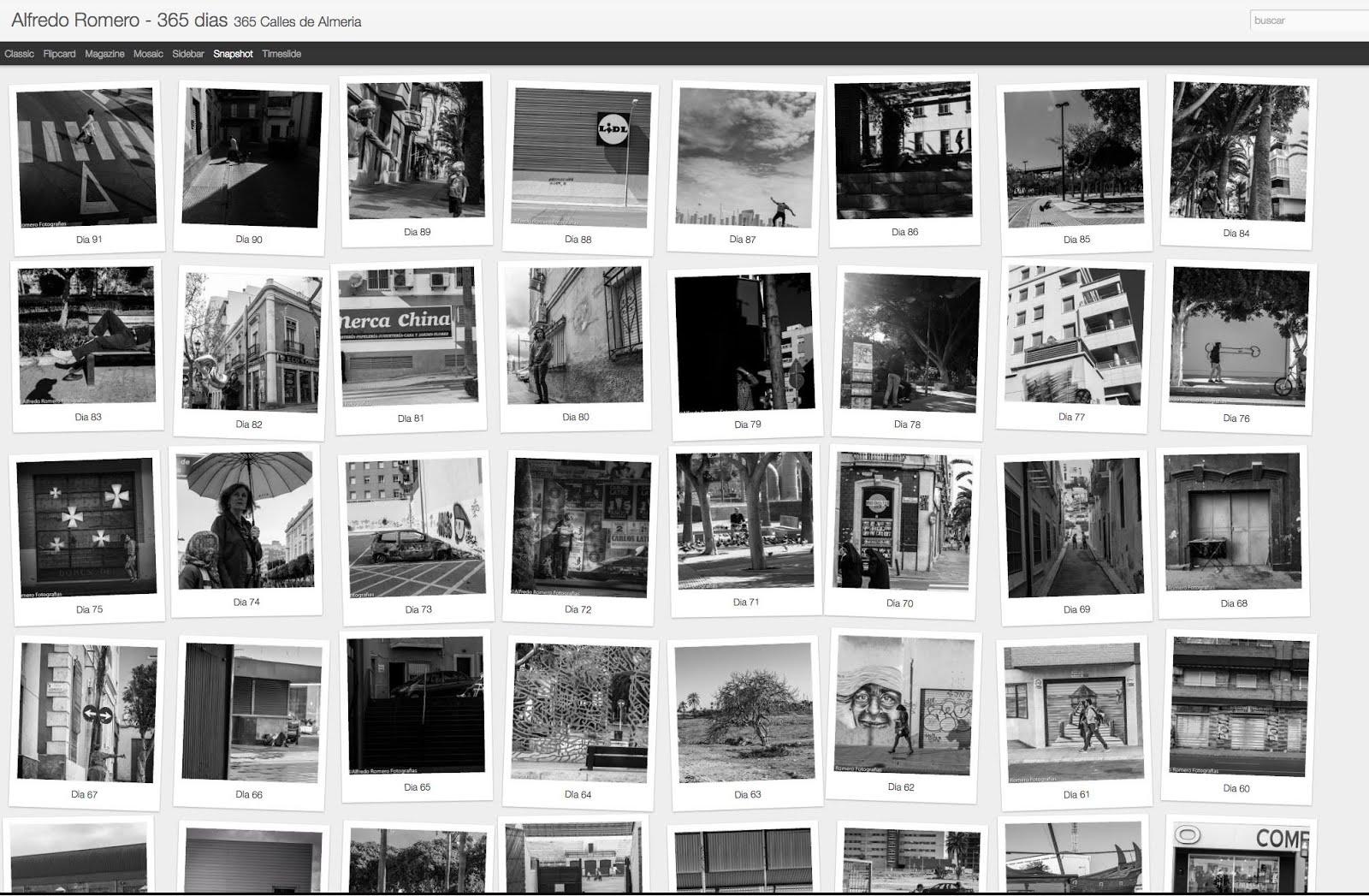 365 dias -365 calles de Almeria