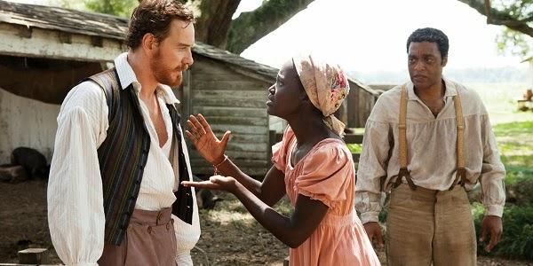 Michael Fassbender, Lupita Nyong'o e Chiwetel Ejiofor em 12 ANOS DE ESCRAVIDÃO (12 Years a Slave)