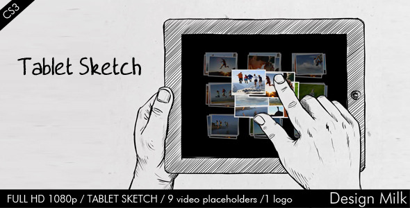 VideoHive Tablet Sketch