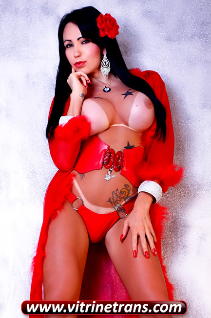 Fabiola Voguel Travesti Super Dotada Cm Real