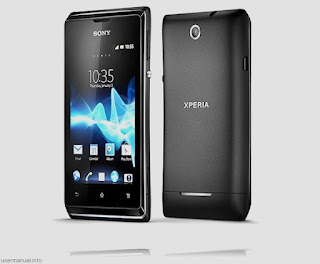 Sony Xperia E Dual user manual guide pdf