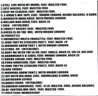 Thirstin Howl III – Skillionaire (1999, CD, 160)