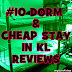 Top 10 KL Hostel Dorm Reviews
