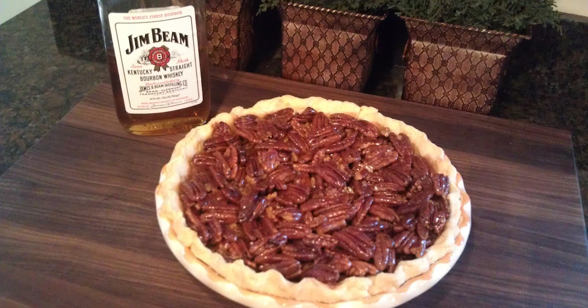 The Lush Chef: Honey Crunch Pecan Pie...with Bourbon