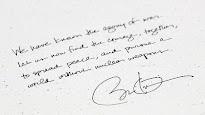 EE.UU: Barack Obama: «Busquemos un mundo sin armas nucleares»