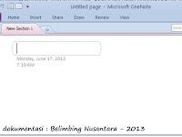 cara praktis mengambil screenshot (menggunakan ms. office onenote 2010)