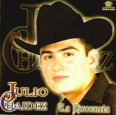 Julio Chaidez Con Banda - La herencia CD Album 2004