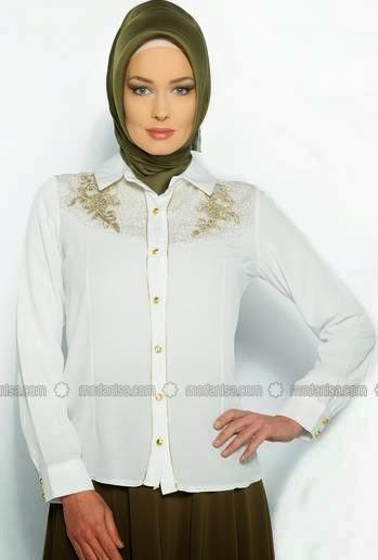 Baju Muslim Atasan Bahan Sifon