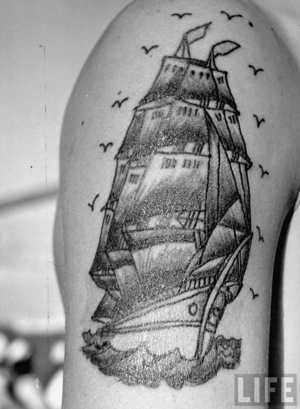 Nautical Sleeve Tattoo Designs