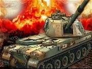 Xe tăng đại chiến, game ban nhau xe tang tại GameVui.biz