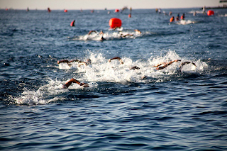 Some thoughts on optimal swimming 'style' for triathletes