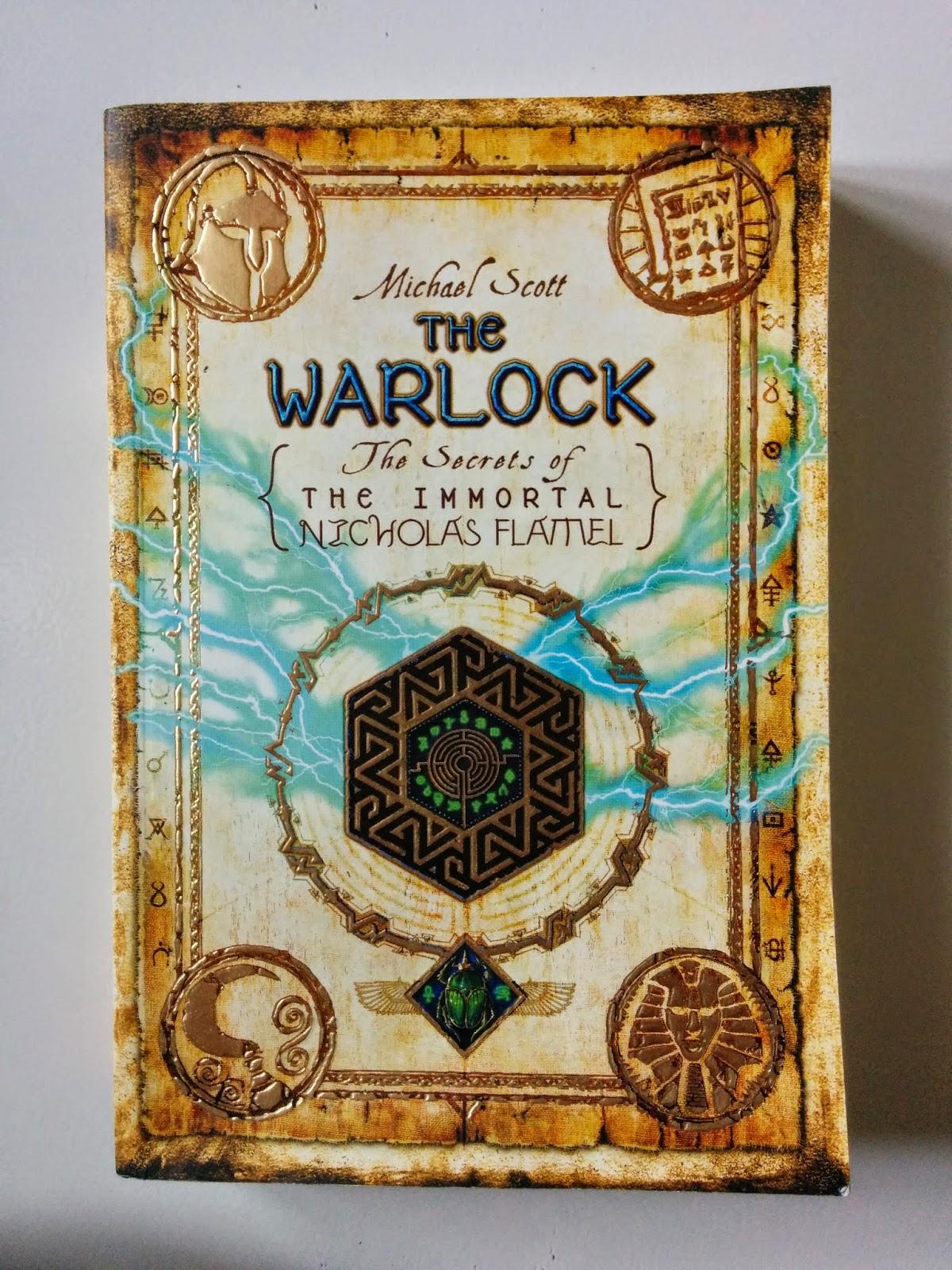 Jual Novel: The Warlock, The Secrets Of The Immortal Nicholas Flamel