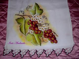 como pintar uva rubi em tecidos