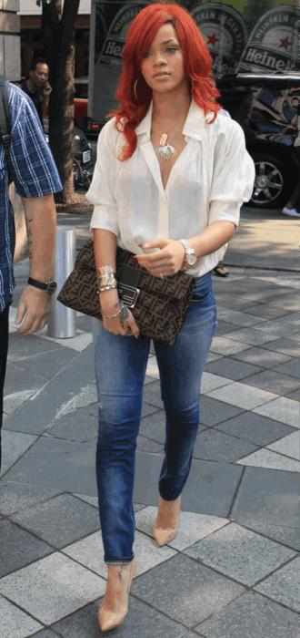 how to wear chiffon blouse