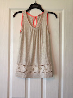 Papermoon Summa Crochet Detail Knit Tank