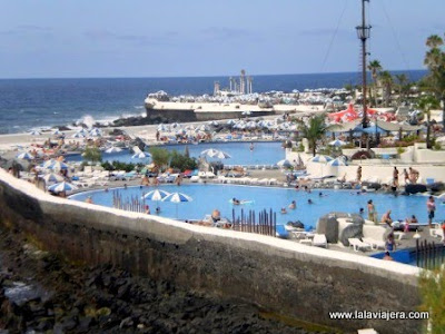 Lagos Martianez, Cesar Manrique, Puerto Cruz, Tenerife