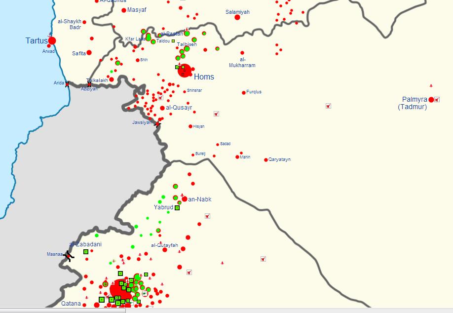 Syrian civil war map template 2500222 - hitori49.info