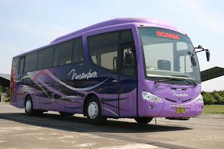 Gambar Bus Nusantara Baru Scania Bus