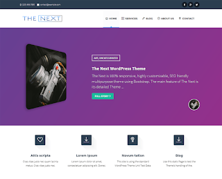 wordpress professional themes : The Next Theme