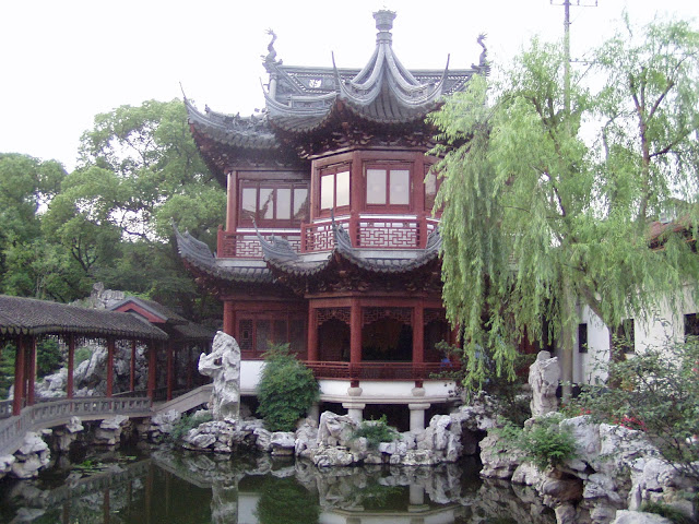 Old Town Shanghai Mansions Gardens