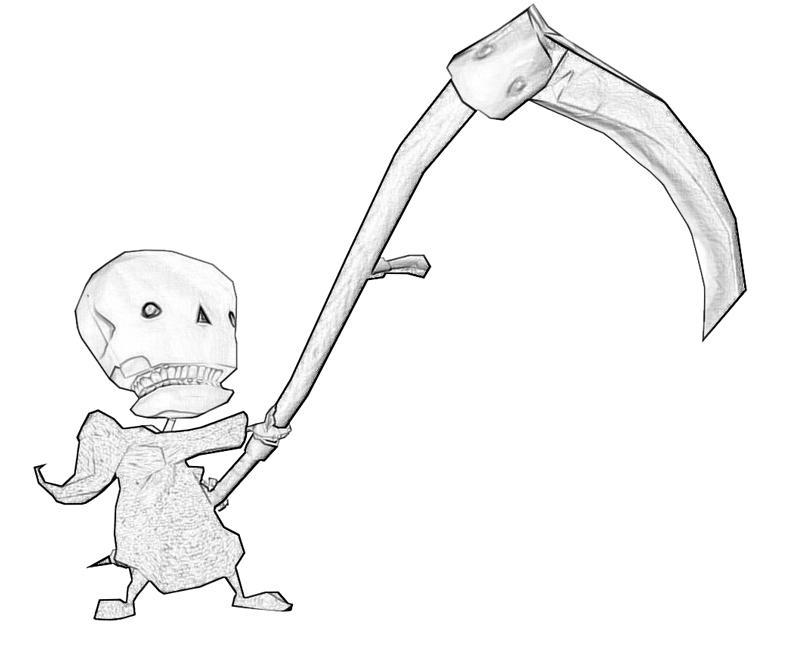 death-jr-death-jr-attack-coloring-pages