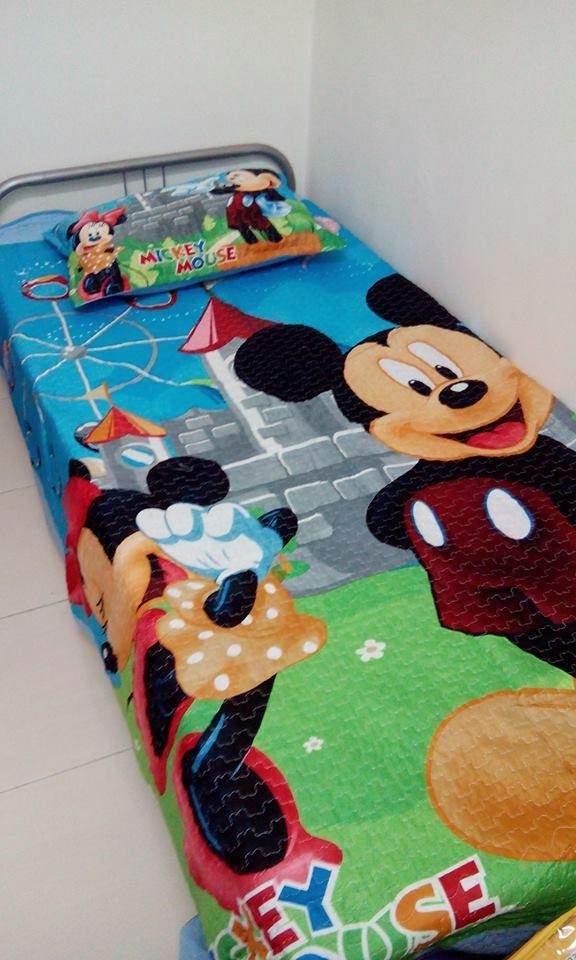 cadar patchwork mickey mouse
