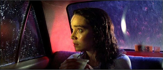 Jessica Harper on a stormy night in Suspiria