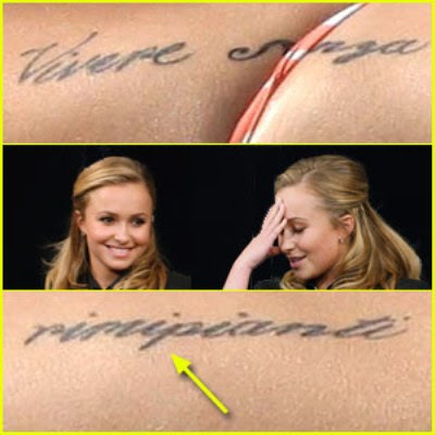 hayden panettiere tattoo pictures