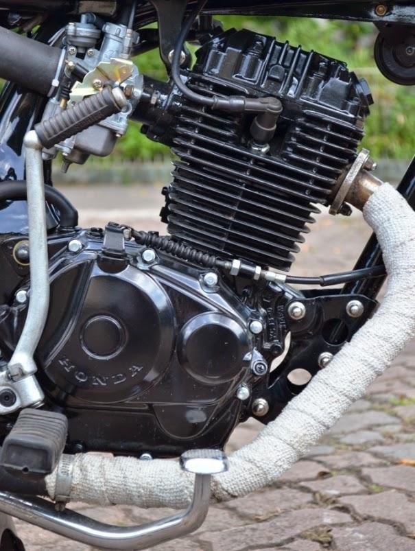 Koleksi Foto Modifikasi Honda GL-Pro 160 cc Custom 2014