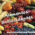 O que são e quais são os alimentos antioxidantes