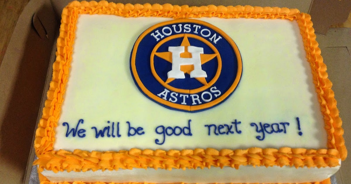 Cakes By Mindy Houston Astros Cake 10 X 15