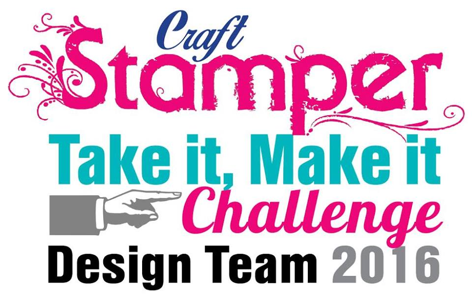Excited to be part of Craft Stamper Design Team
