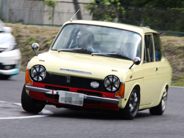 Subaru FF-1, stary, nostalgic, klasyczny, youngtimer, oldschool, classic, old, napęd na przód, FWD, JDM, japoński samochód