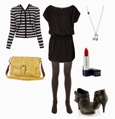 Zip Hoodies Style : Zip-Up / Dress Combination