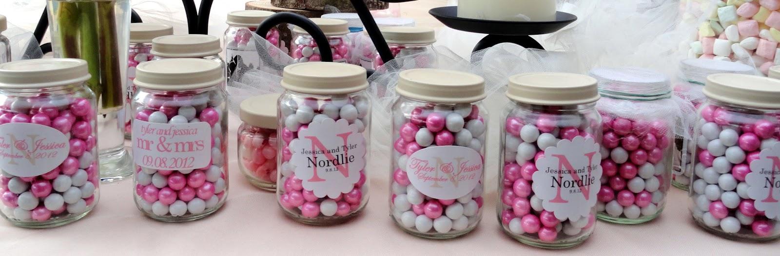 Wedding Favors Using Baby Food Jars