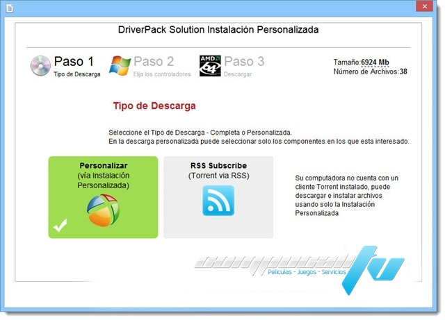 DriverPack Solution 15.8 2015 Español