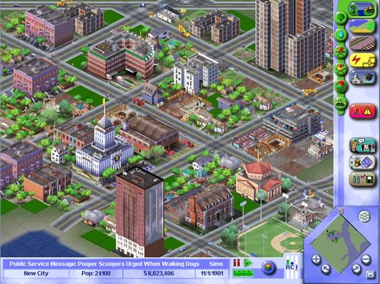 play sim city 3000 online free no download