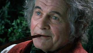 foto do personagem Bilbo Bolseiro em O Senhor dos Anéis