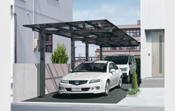 Latest home design minimalist car garage for 2014 home inspirations - Separate garage plans minimalist ...