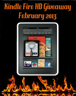 FEBRUARY Kindle Fire HD Giveaway!