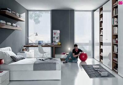 minimalist bedroom interiors