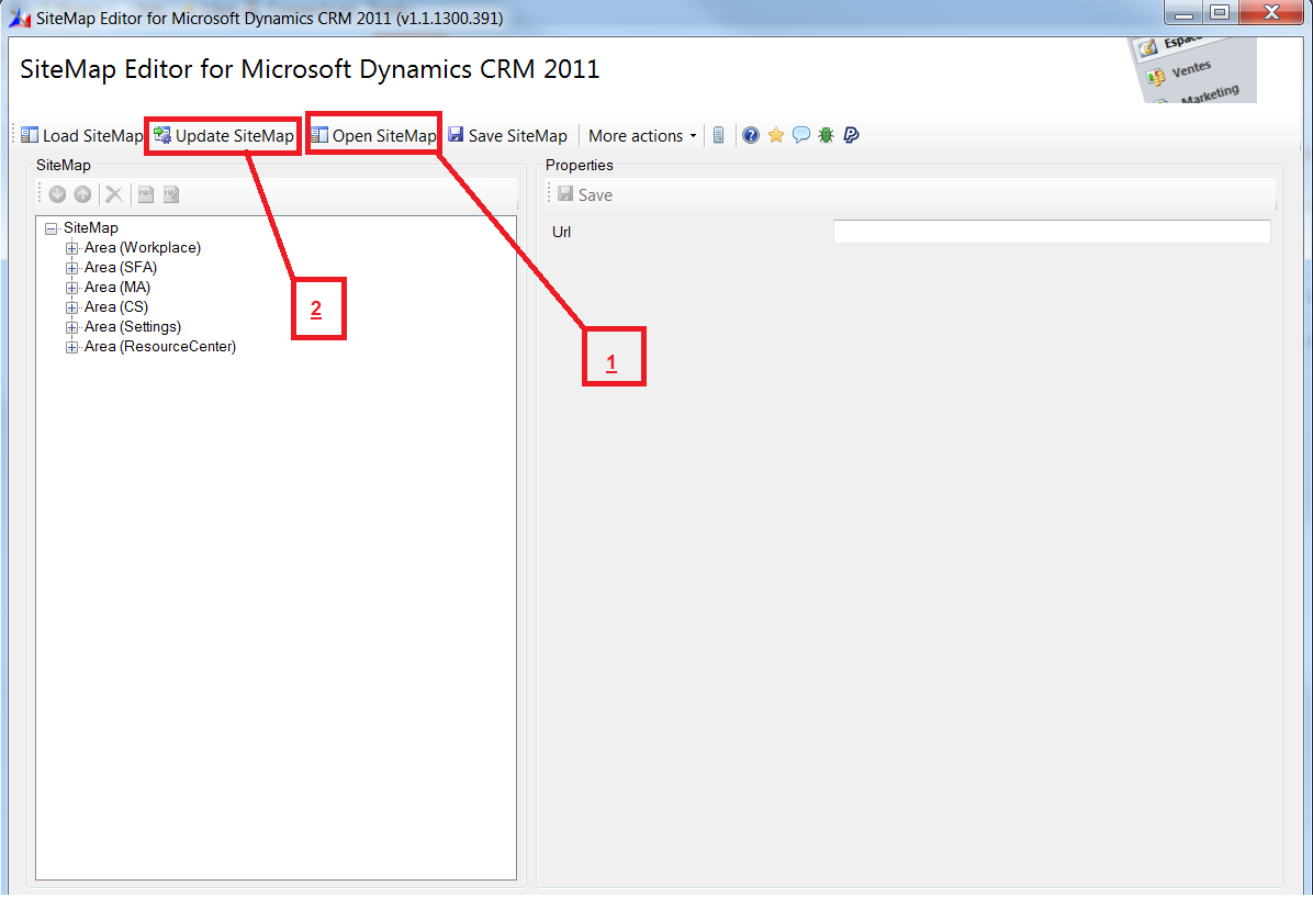 crm solutions with ms dynamics crm 2011 privileges in sitemap hiding