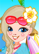 Стильняшка на море - Онлайн игра для девочек