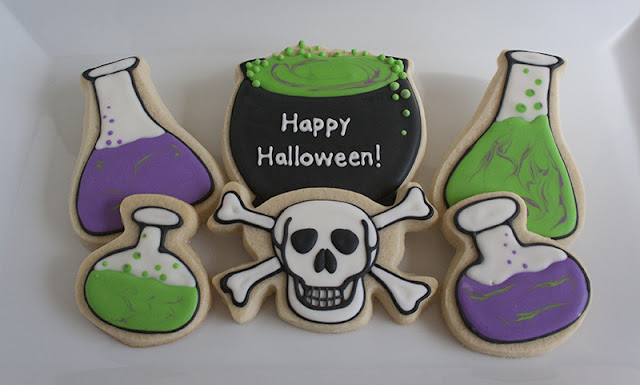 Halloween Potions Cookies