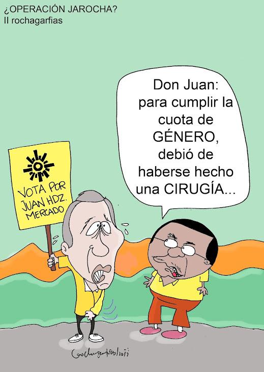 Juan Hernández Mercado no podrá ser candidato a diputado del PRD por Orizaba, por cuota de genero.