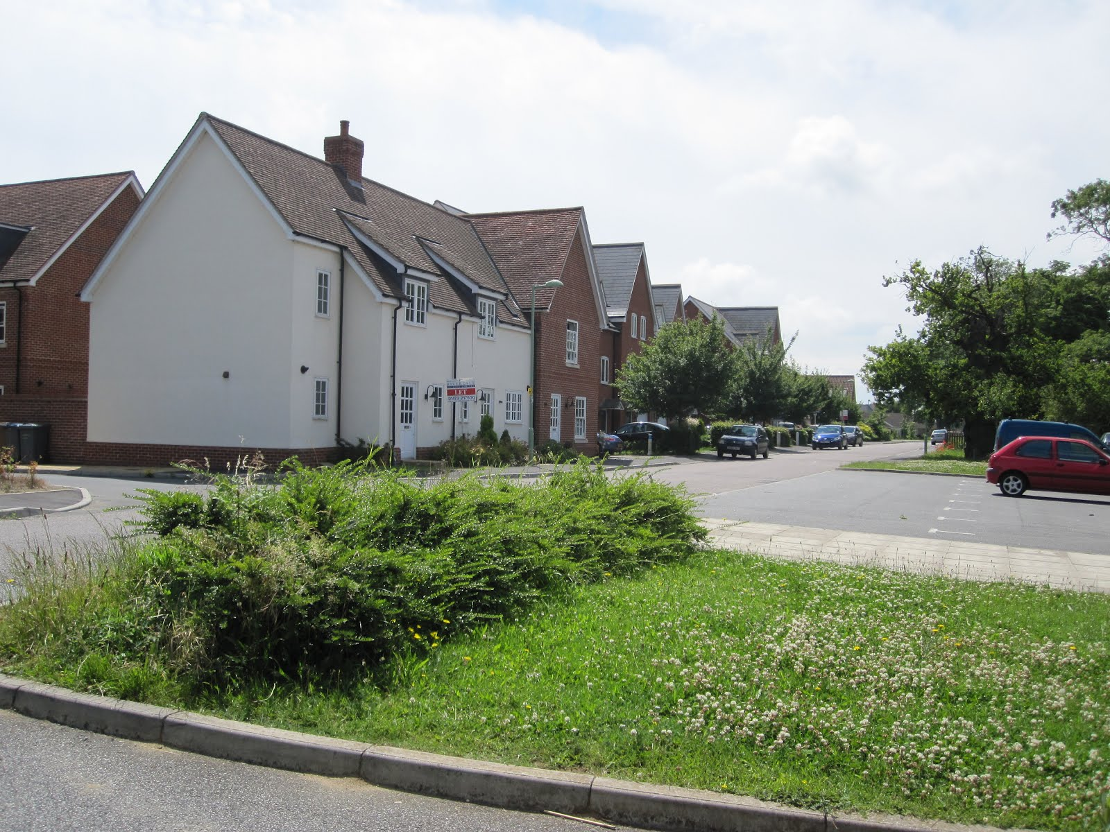 rowdy in raf bentwaters one of the streets in rendelsham village which used to be the domestic side of raf bentwaters all the old base housing is now in use as brit housing too