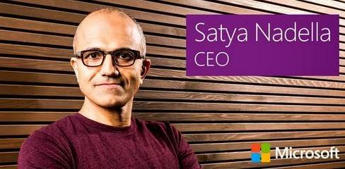 Satya Nadella resmi menjadi CEO Microsoft