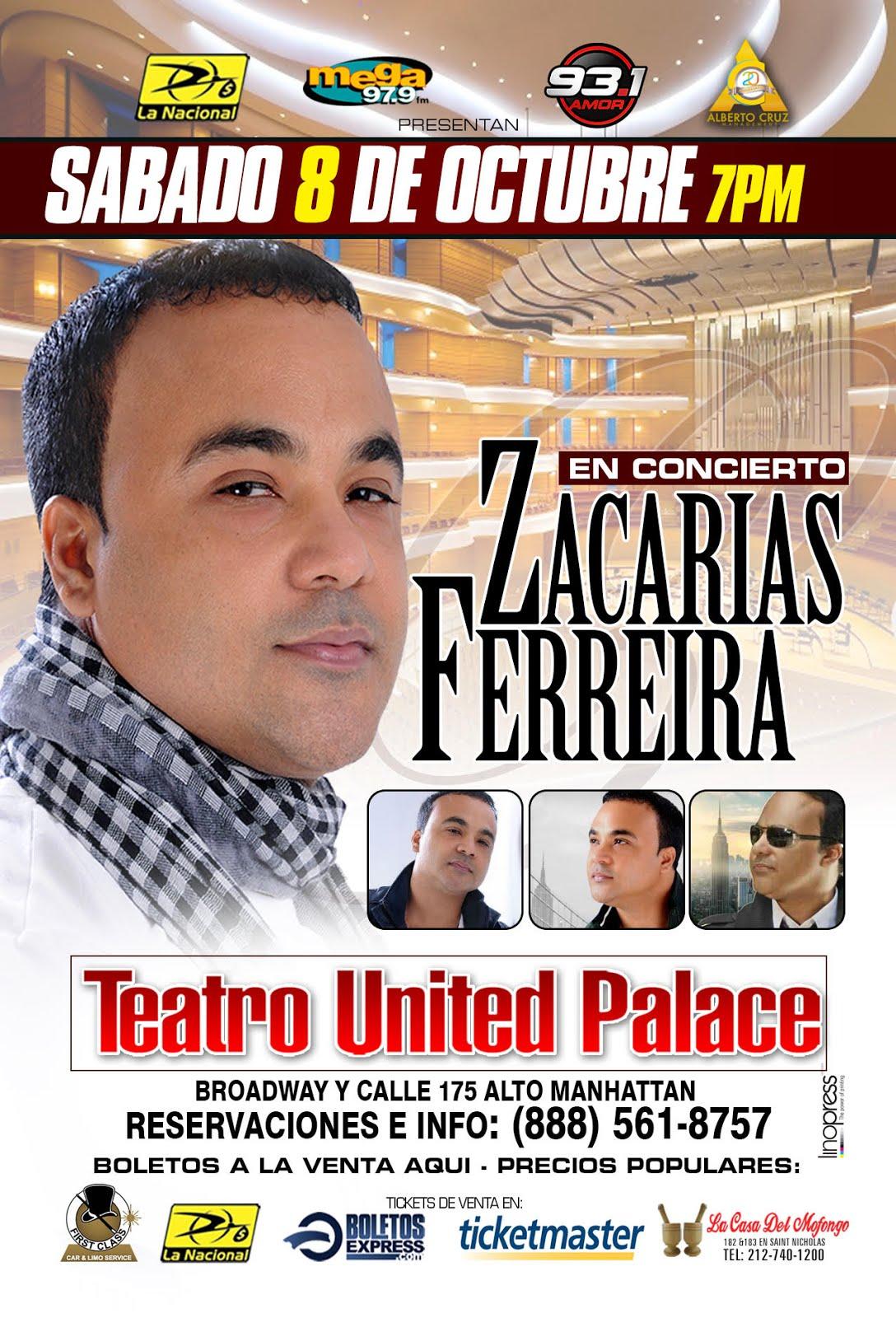ZACARIAS FERREIRAS en CONCIERTO