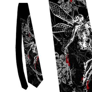 Madame macabre looks inspiradores corbatas g ticas for Disenos de corbatas